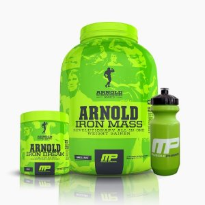 Iron Mass (2,270g) + Iron Dream (168g) + Squeezy Muscle Pharm