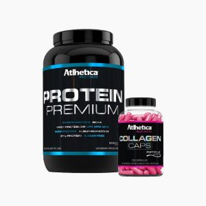 Protein Premium (900g) + Collagen (120caps) - Atlhetica Nutrition