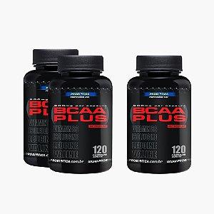 BCAA Plus (120caps) - (COMPRE 2 LEVE 3) - Probiótica