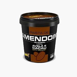 Pasta de Amendoim Com Avelã E Cacau (480g) - Mandubim