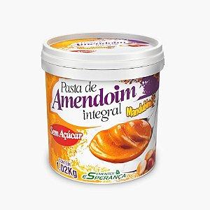 Pasta de Amendoim Integral (1,02Kg) - Mandubim  VENC:(MAR/2017)