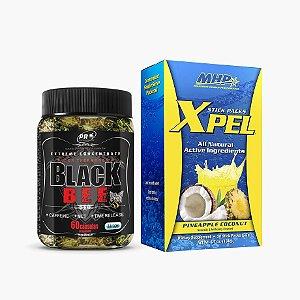 Xpel (20 sachês) + Black Bee (60 caps) - MHP
