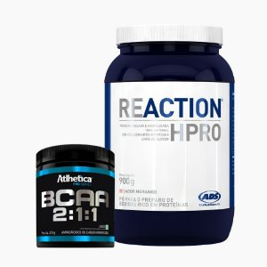Reaction HPRO (900g) + BCAA Pro Series (210g) - ADS