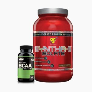 Syntha 6 2lbs + BCAA Optimum (60caps) - BSN