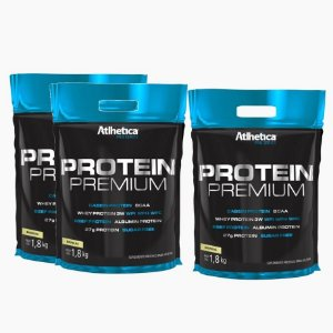 Protein Premium Refil (1,8kg) (COMPRE 3 LEVE 4) - Atlhetica Nutrition Pro Series