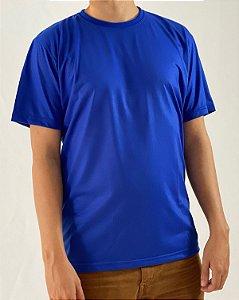 Camiseta Azul Royal, 100% Poliéster