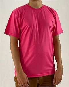 Camiseta Rosa Pink, 100% Poliéster