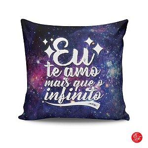 Almofada - Eu te amo mais que o infinito