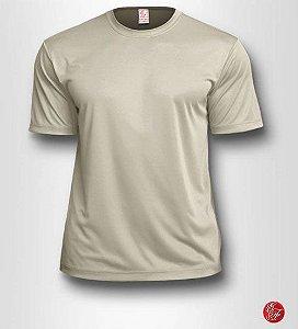 Camiseta Infantil Bege - 100% Poliéster