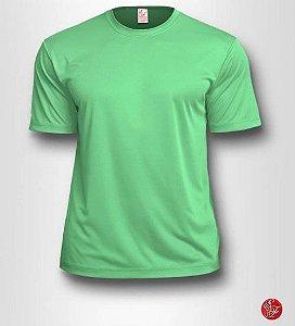Camiseta Infantil Verde Água - 100% Poliéster