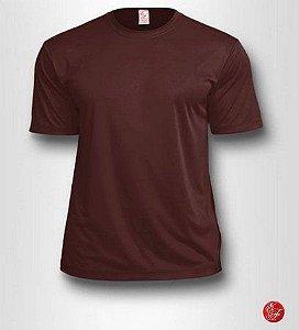 Camiseta Infantil Marrom - 100% Poliéster