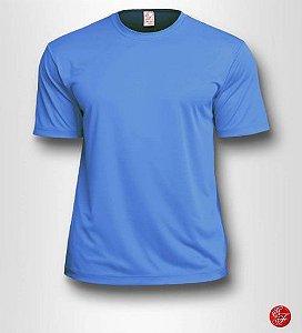 Camiseta Infantil Azul Celeste - 100% Poliéster