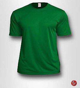 Camiseta Infantil Verde Bandeira - 100% Poliéster