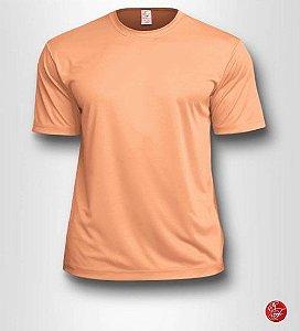 Camiseta Infantil Salmão - 100% Poliéster