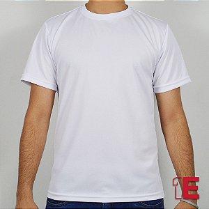 Camiseta Branca, Dry Fit Colmeia