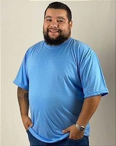 Camiseta Azul Celeste, Extra Grande, 100% Poliéster