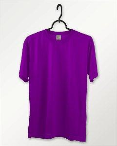 Camiseta Roxa, Extra Grande, 100% Poliéster