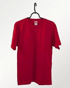 Camiseta Bordo, Extra Grande, 100% Algodão, Fio 30.1 Penteado