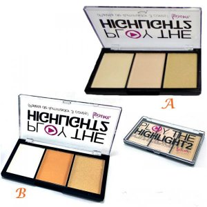 Paleta de iluminador Play the Highlight2
