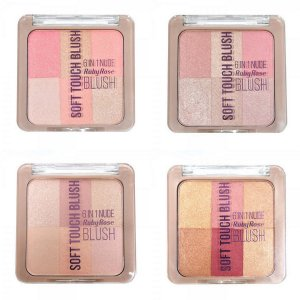 Soft Touch Blush 6 in 1 Nude - Ruby Rose
