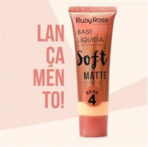 Base Soft Matte Ruby Rose