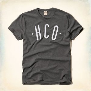 Camisa Hollister Graphic HCO