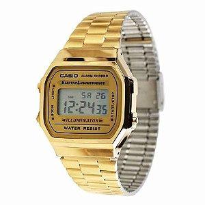 Relógio Casio Vintage A-168WG-9W
