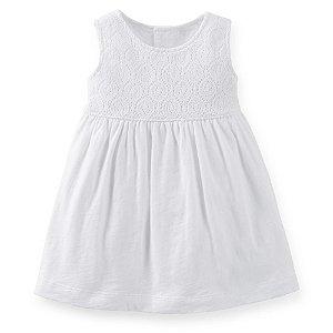 E5- Vestido Branco-Carter's
