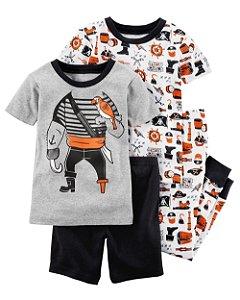 F1- Pijama 4 peças-Carter's