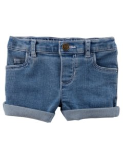 F9- Shorts Jeans-Carter's