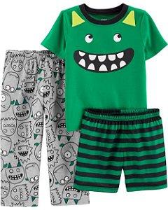 F1- Pijama 3 peças-Carter's