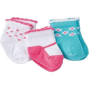 I1- kit 3 pares de meias
