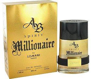 "PERFUMES IMPORTADOS ""MILLIONAIRE SPIRIT""  BY LOMANI PARIS. 100 ML,"