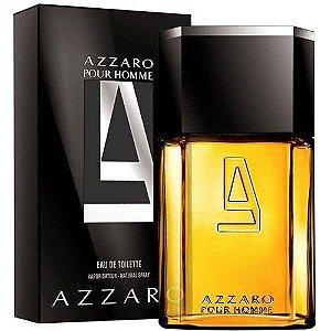 PERFUMES IMPORTADOS  ''AZZARO ''  POUR HOME, MASC. 100 ML,  EAU DE TOILETTE;