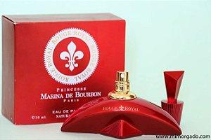 PERFUMES IMPORTADOS  ''ROUGE ROYAL ''  MARINA DE BOURBON, 100 ML, FEM.  EAU DE PARFUM