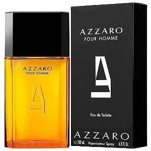 PERFUMES IMPORTADOS  ''AZZARO ''  POUR HOME, MASC. 200 ML,  EAU DE TOILETTE;