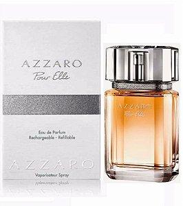 """PERFUMES IMPORTADOS  '' AZZARO Pour Elle """"   Fem. 75 ml,  EAU DE PARFUM."""