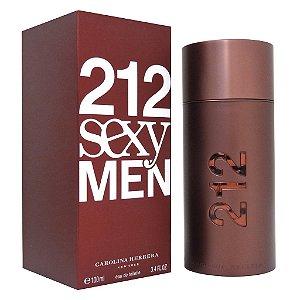 """PERFUMES IMPORTADOS  '' 212 SEXY MEN'',   CAROLINA HERRERA, 100 ML.  MASC.  """"  ORIGINAIS IMPORTADOS  """"MASC."""