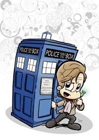 Pôster 11º Doctor Who - Versão Levados