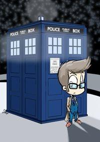 Pôster 10º Doctor Who - Versão Levados
