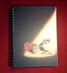 """Caderno """"A última dança"""" capa dura - Grande"""