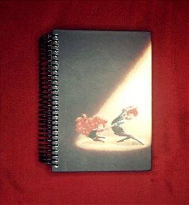 """Caderno """"A última dança"""" capa dura - Pequeno"""