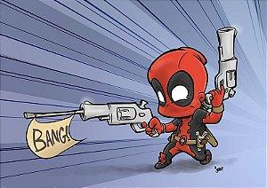 Pôster Deadpool - Versão Levados