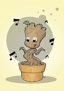 E-print Baby Groot