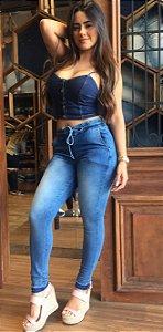 Calça Jogger Jeans [Cardia 39.140] 4A