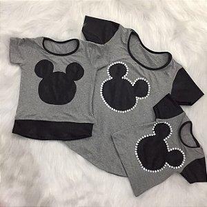 T shirt Mickey Pai e Filho