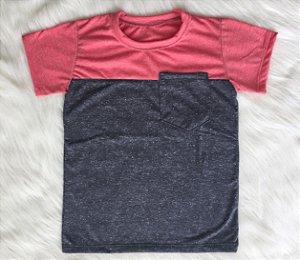 T shirt Cereja infantil masculina