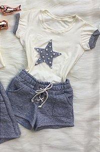 Conjunto Estrela infantil