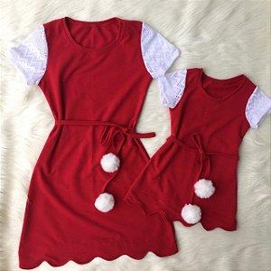 Vestido Natal Mãe e Filha