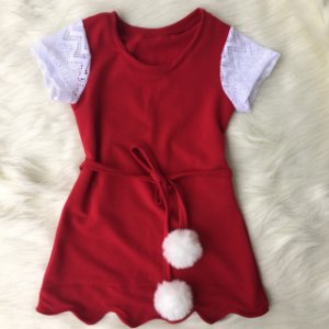 Vestido Natal infantil